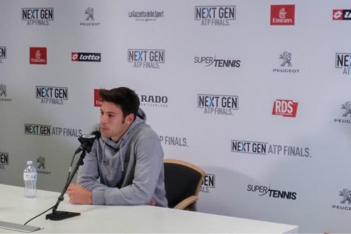 """Next Gen Finals, Quinzi: """"Sono carente sui punti importanti"""""""