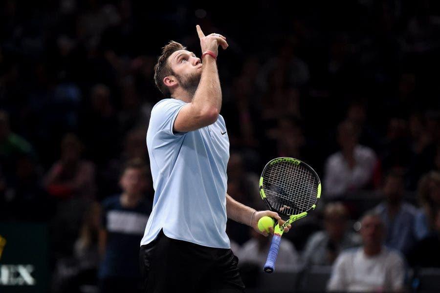 ATP Bercy: Krajinovic stupisce, Sock sogna