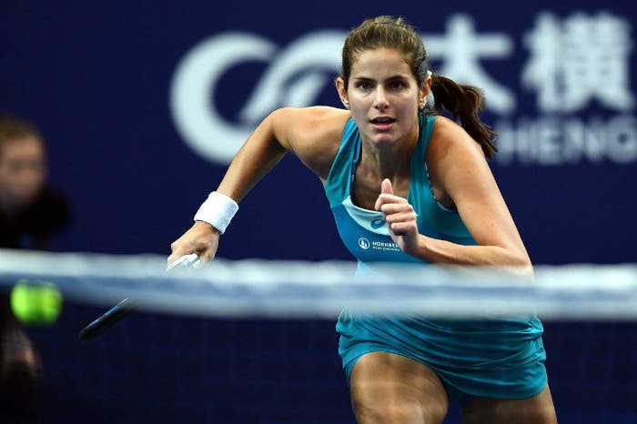 WTA Zhuhai: Mladenovic ancora KO, Goerges ultima semifinalista