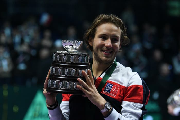 """Coppa Davis: assolo di Pouille, finalmente """"La Dixième""""!"""