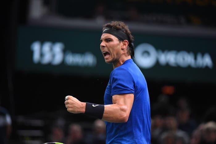 ATP Bercy: Nadal, quanta fatica. Out Thiem e Dimitrov
