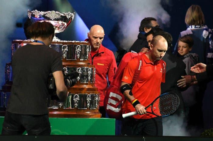 Steve Darcis, il gomito del tennista e una Davis da incubo