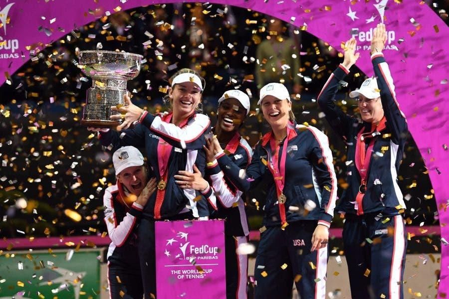 Il doppio è americano, la Fed Cup torna negli USA dopo 17 anni