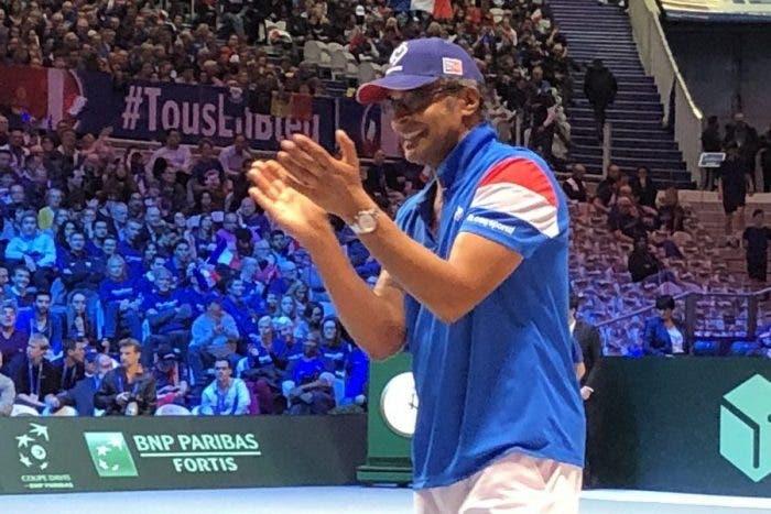 Coppa Davis, doppio: Noah e Van Herck rinunciano a Tsonga e Goffin