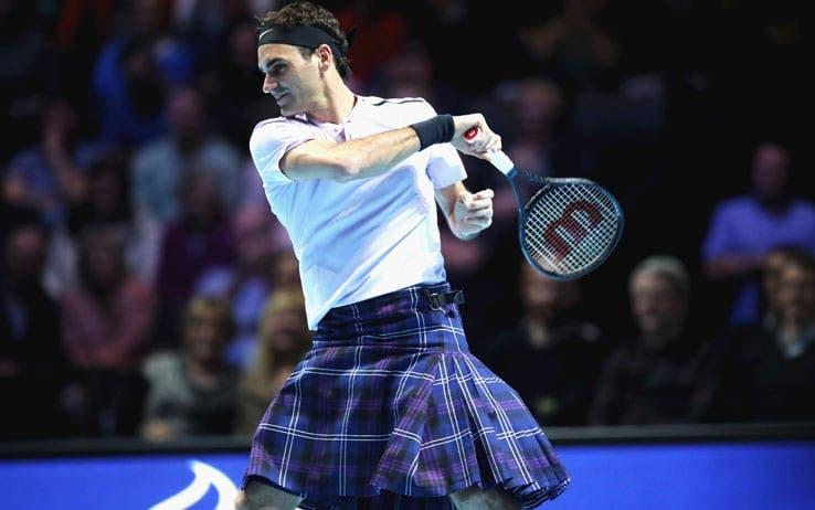 Federer e Murray scozzesi doc. A Glasgow vince il divertimento