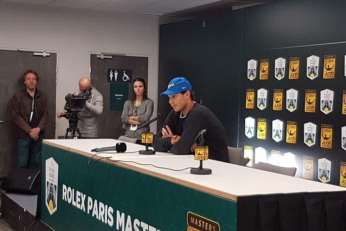 """ATP Bercy, Nadal si ritira: """"La priorità adesso non è Londra"""""""