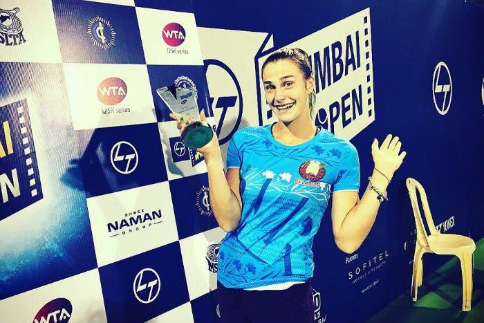 WTA 125K: primo titolo per Aryna Sabalenka