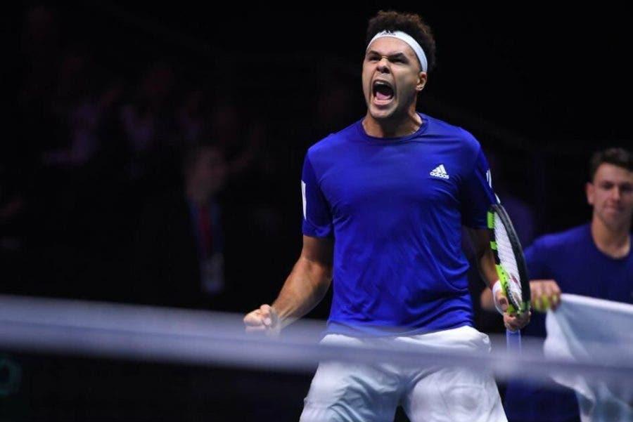 Coppa Davis: Tsonga gioca e vince da leader, Francia-Belgio 1-1