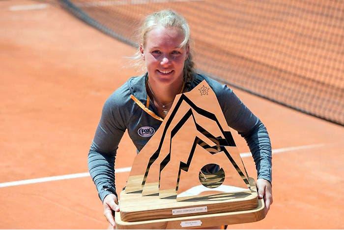 WTA 2017: una coppa, un piatto e… una montagna