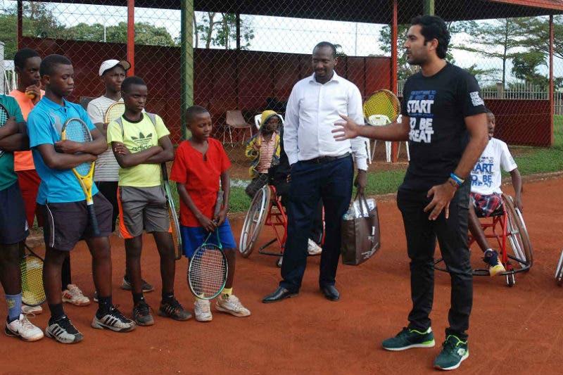 Stop War Start Tennis: il progetto di Qureshi nel terzo mondo