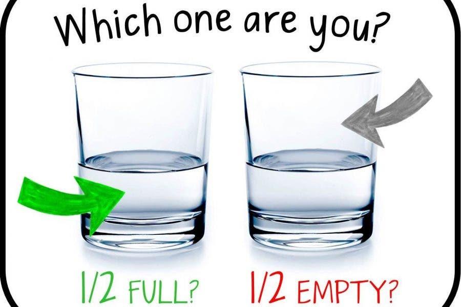 Il bicchiere mezzo pieno: pensieri oziosi di fine stagione