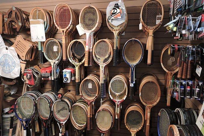 Racchette, che passione! Il mondo del collezionista di tennis