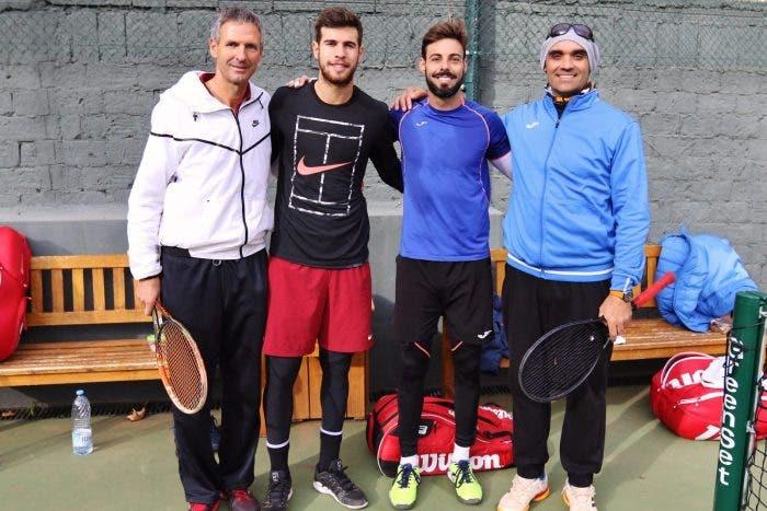 Karen Khachanov si allena a Barcellona, con un nuovo (vecchio) coach