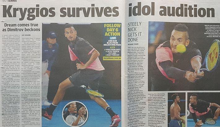 Australian Open Rassegna Stampa Barty E Kyrgios Ormai Idoli