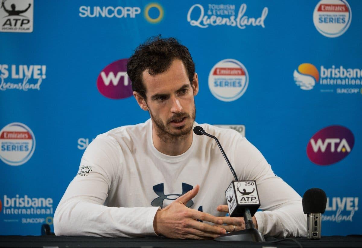 Murray senza pace: forfait a Brisbane e tanti dubbi per il futuro