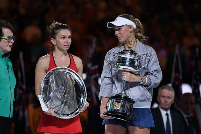 """Wozniacki: """"Mai più regina senza corona"""". Halep: """"Aspetto e perdo"""""""