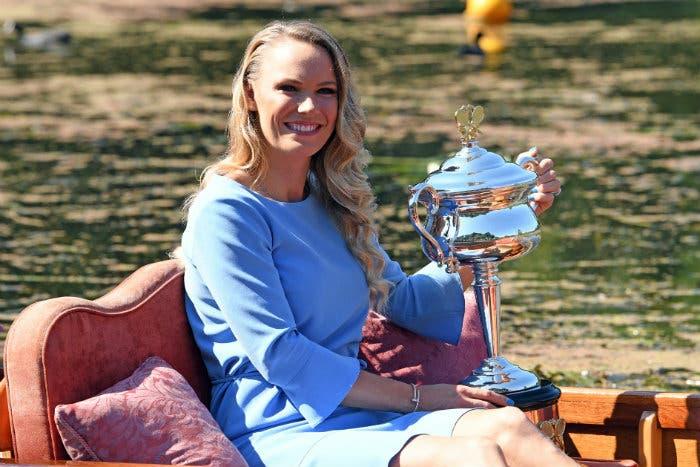 Australian Open: il trionfo di Caroline Wozniacki [FOTO]
