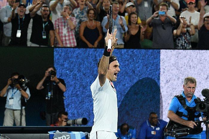 Australian Open: splendido Roger Federer, via col Venti