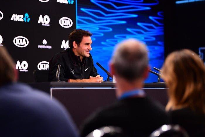 """Federer sornione: """"Un 36enne non è mai il favorito del torneo"""""""