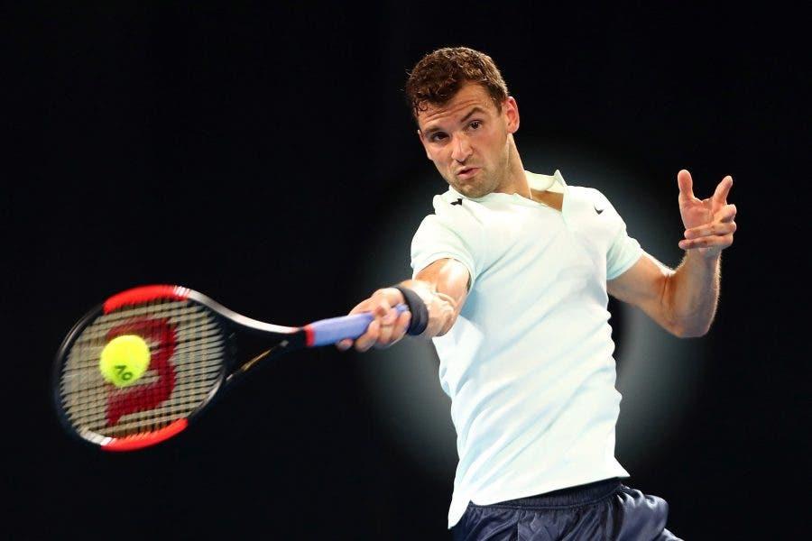 ATP Brisbane: esordio col brivido per Dimitrov