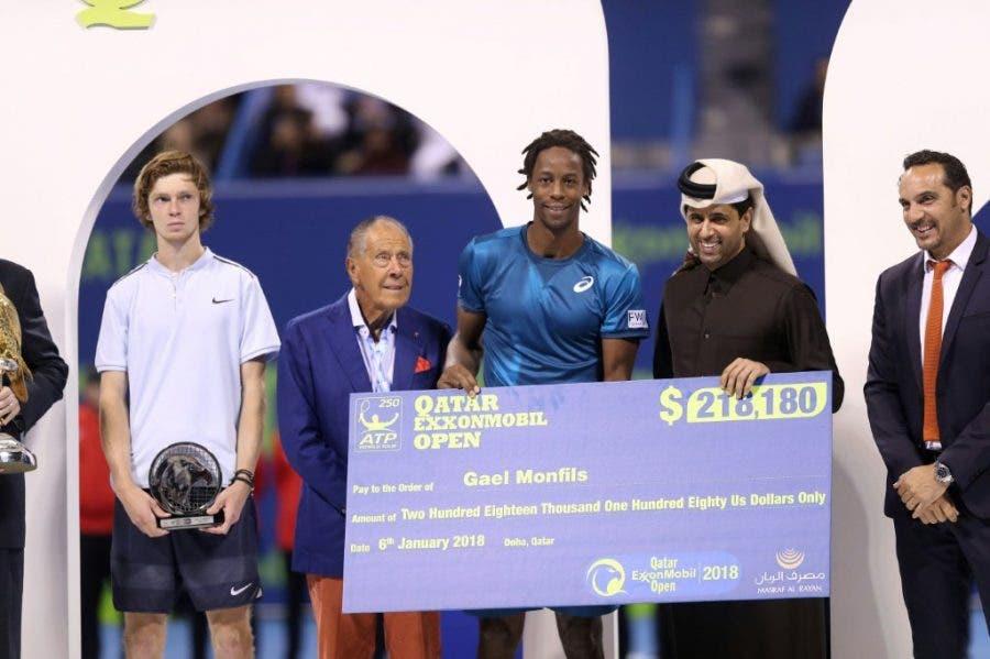 ATP Doha: Monfils è super, il Qatar è finalmente suo al quarto tentativo