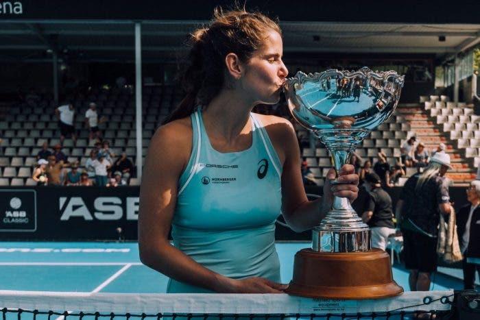 WTA Auckland: il ciclone Goerges si abbatte su Wozniacki