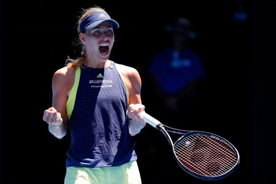 Australian Open: Kerber sul cornicione, Keys e Halep dominano. Pliskova ok