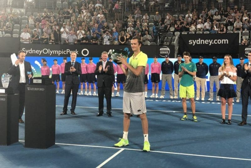 ATP Sydney: Medvedev conquista il primo titolo