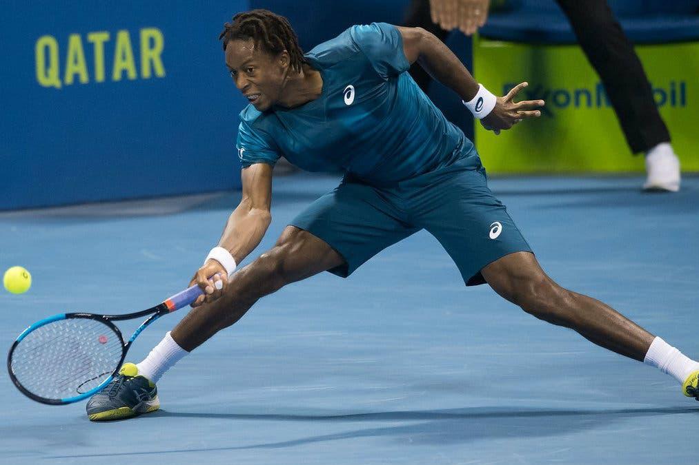 ATP Doha: Monfils ringrazia la febbre di Thiem, finale con Rublev