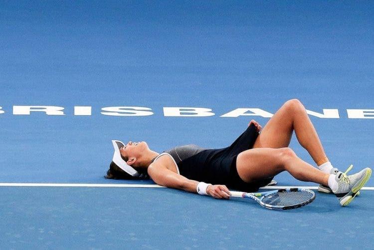 WTA Brisbane: maleficio Muguruza, Konta soffre ma va ai quarti