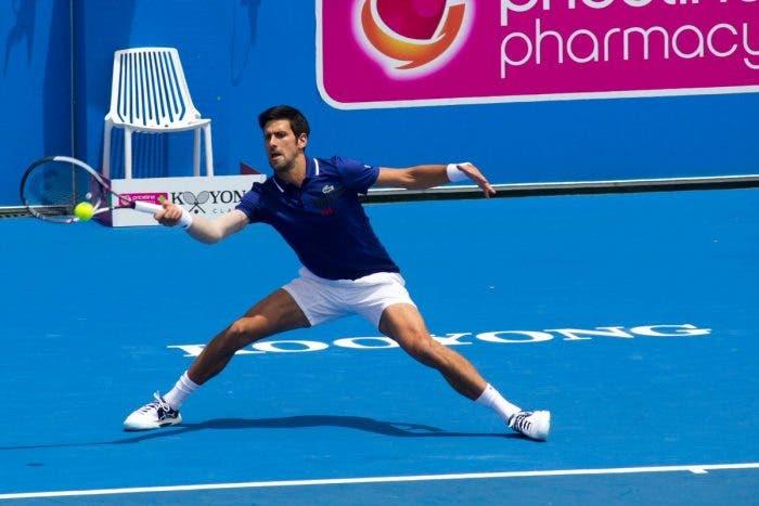 Esibizioni: è tornato Djokovic. Batte Thiem, poi perde con Hewitt