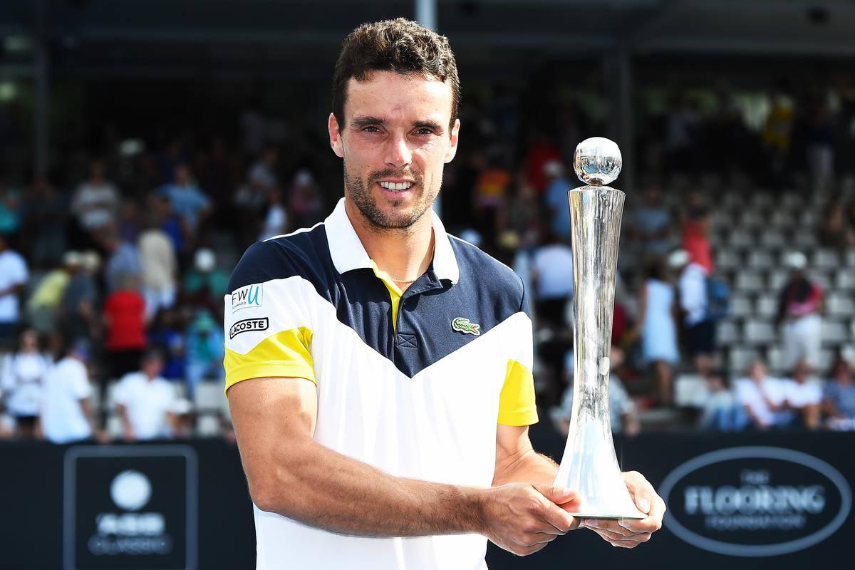 ATP Auckland: Bautista Agut mette il settimo sigillo, battuto del Potro