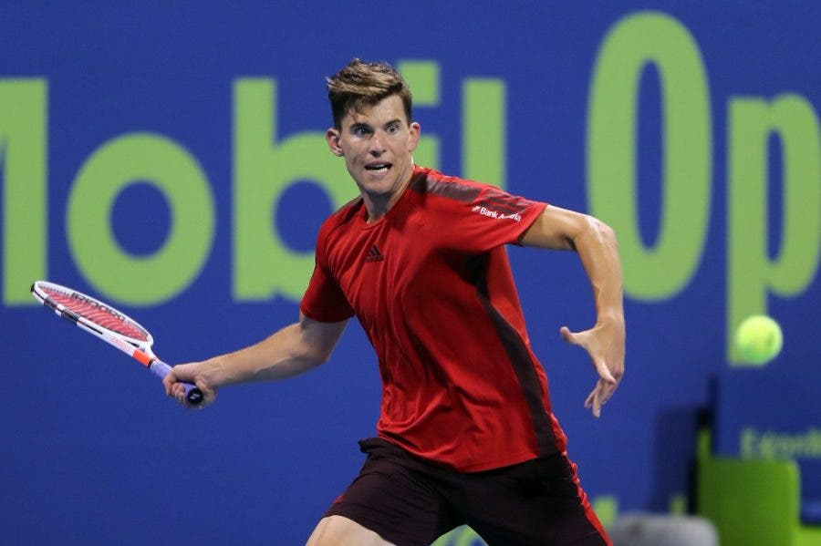ATP Doha e Pune: Thiem doma un buon Tsitsipas, avanti Rublev