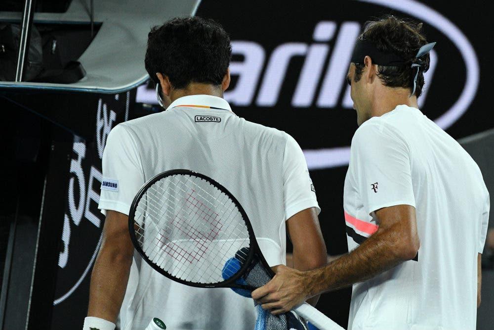 Australian Open: Chung non sta in piedi, Federer sì. 30esima finale Slam