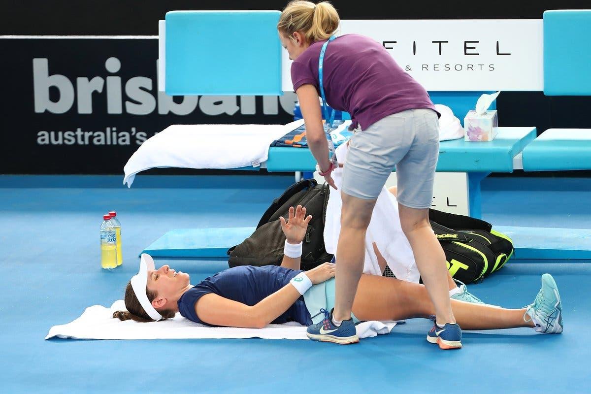 WTA Brisbane: l'anca che fa tremare il Regno Unito. Pliskova suda ma passa