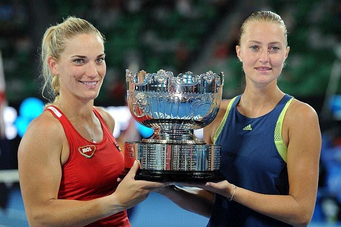 """Australian Open: Mladenovic, riscatto """"doppio"""". Campionessa con Babos"""