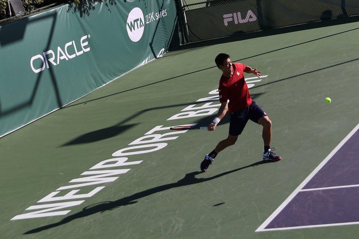 Nishikori, rientro amaro: fuori al primo turno dal Challenger di Newport Beach