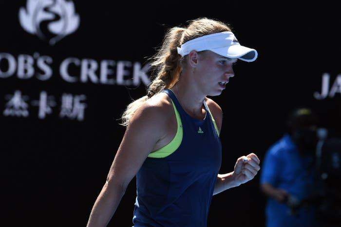 Australian Open: finisce il sogno di Mertens, in finale va Wozniacki