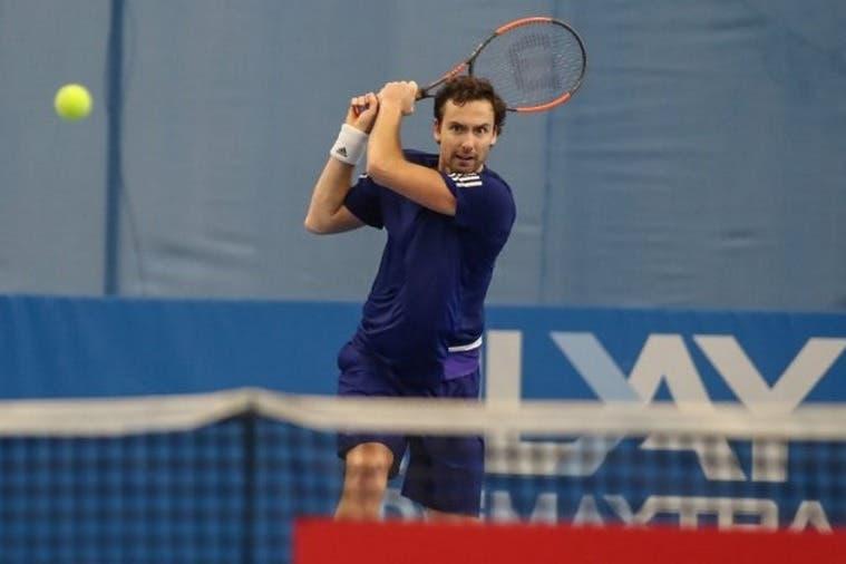 ATP Sofia: Gulbis ok, Caruso fermato a un set dal main draw