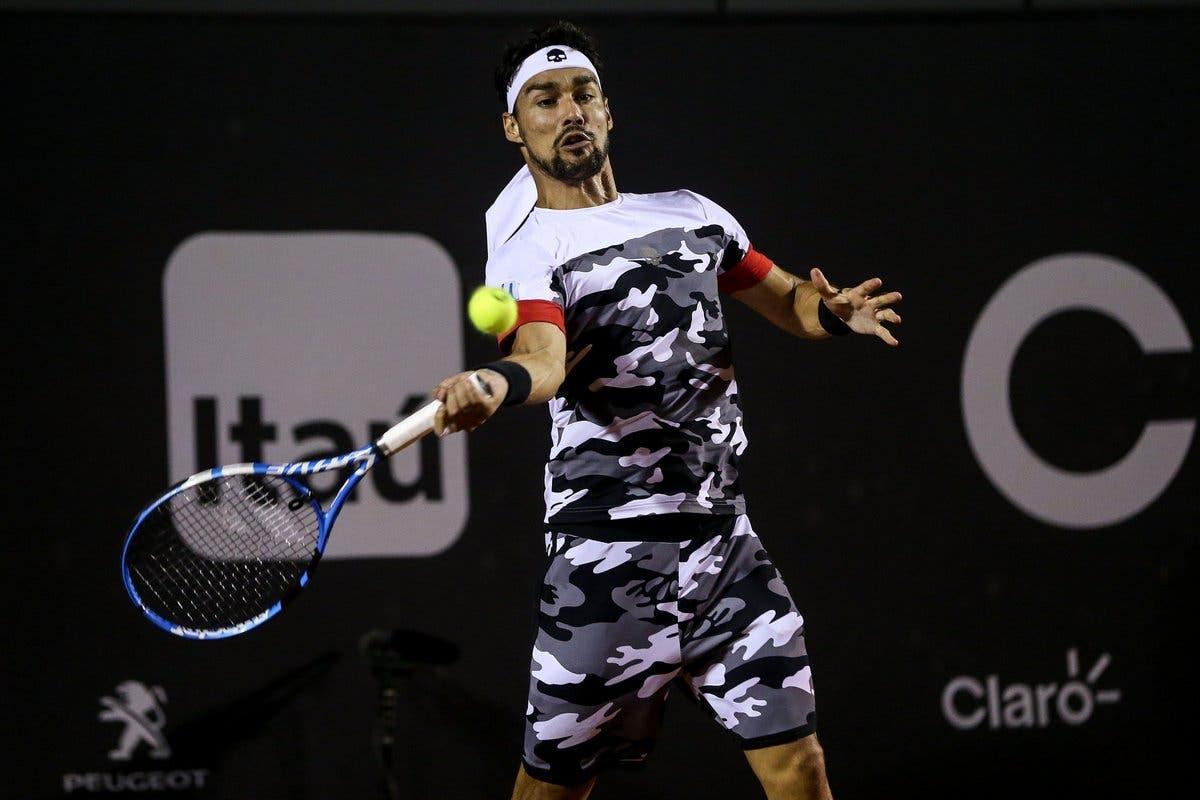 ATP San Paolo: Fognini non sbaglia, semi contro Cuevas. Colpo Jarry