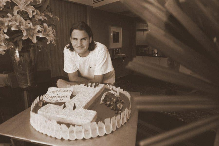 Federer: 13 tornei, 14 anni dopo