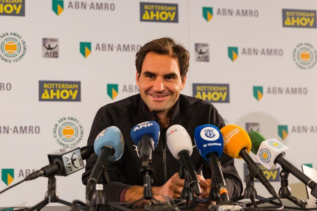 """Federer a Rotterdam per la storia: """"Non ci credevo più"""". Krajicek: """"Forse l'ultima volta"""""""