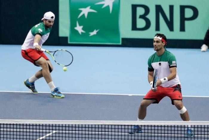 Coppa Davis, Giappone-Italia 1-2: Bolelli e Fognini, missione compiuta