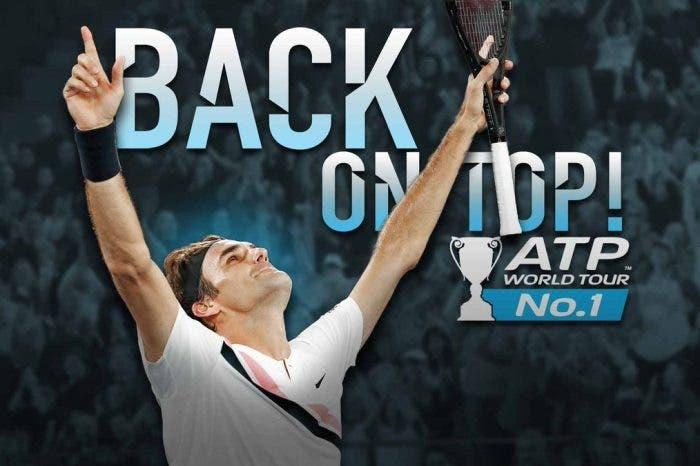 ATP Ranking: Re Federer mette tutti in fila