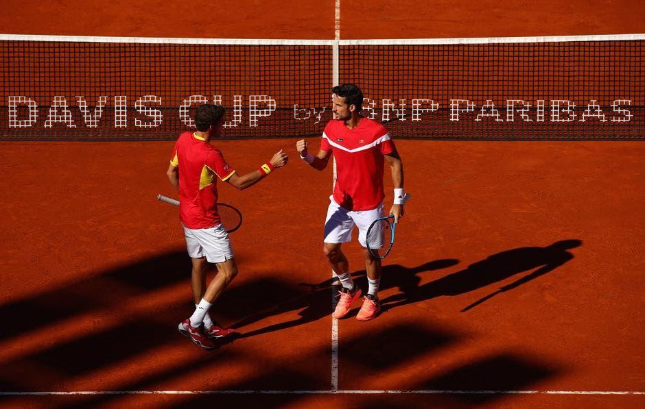 Coppa Davis: Spagna e Francia vanno sul 2-1, USA ai quarti