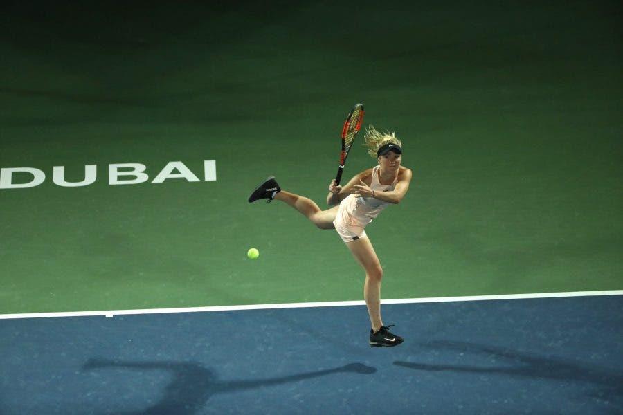 WTA Dubai: Svitolina-bis, Kasatkina dura un set