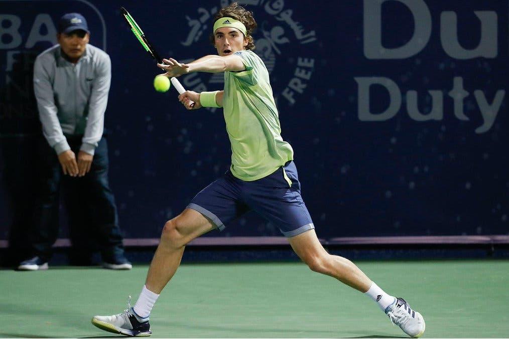 ATP Dubai: brilla Tsitsipas, Pouille si prende la rivincita