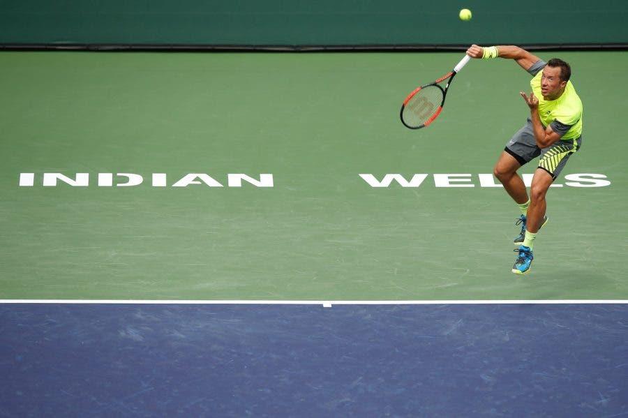 Indian Wells: cade un altro big, Cilic sorpreso da Kohlschreiber