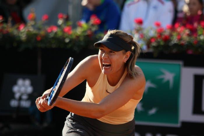 Ostapenko morde, Sharapova sbrana. La maratona di Roma è sua