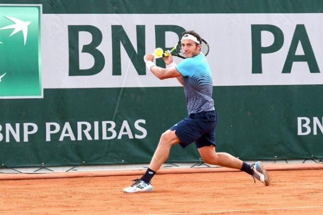Roland Garros: Giannessi commovente, ma una palla corta lo tradisce. Passa  Nishikori in 5 set